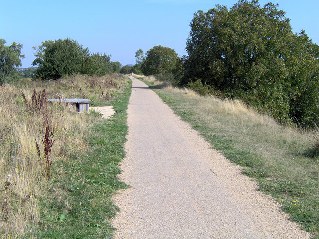 Didcot to Upton cycle path, near West Hagbourne