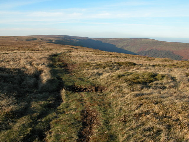 Offa's Dyke Path, Hatterall Ridge