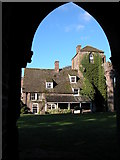 SO2827 : The Abbey Hotel, Llanthony by Philip Halling