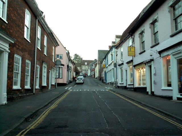 A view of South Street, in Manningtree, Essex