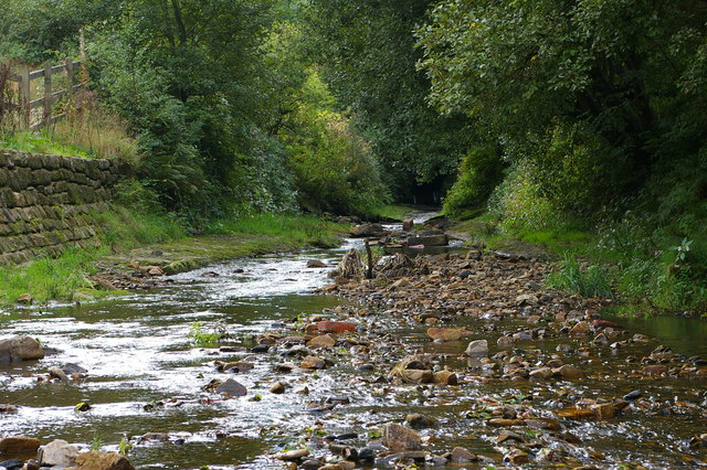 Walsden Water near Scott Street Recreation Ground