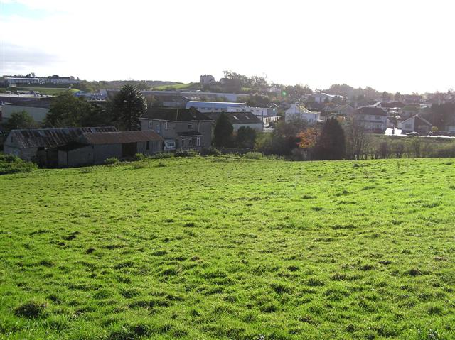 Field at Tamlaght Road, Omagh by Kenneth  Allen