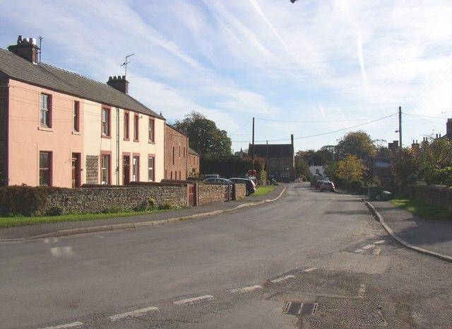 The village street, Long Marton