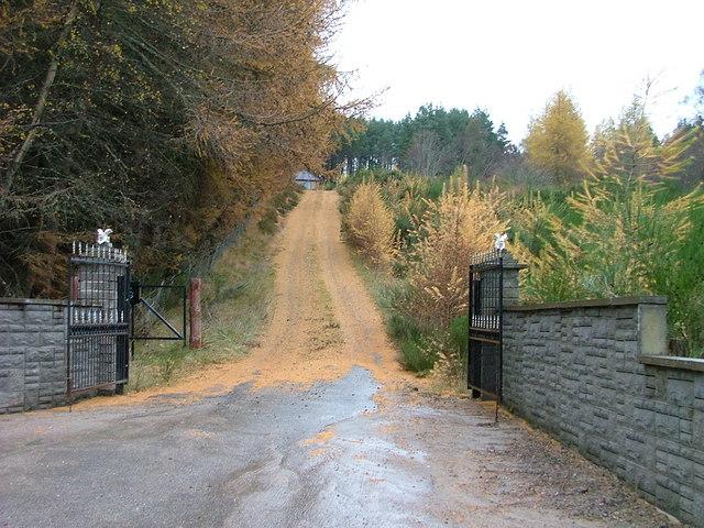 Driveway in Abriachan
