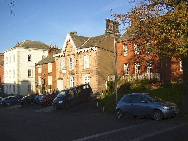 Buildings on east side of Boroughgate, Appleby