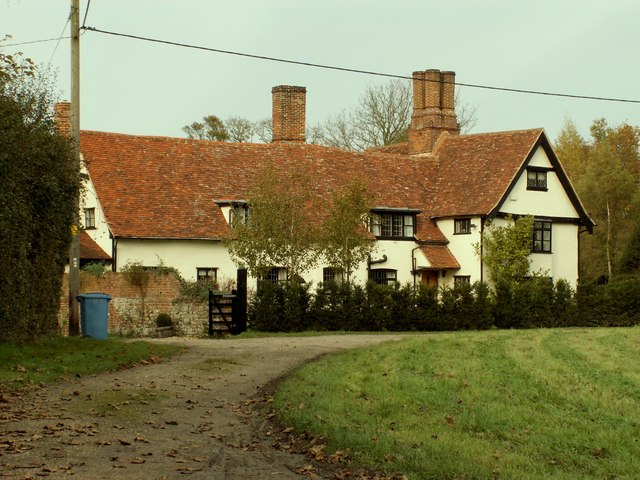 Naughton Hall, Naughton, Suffolk