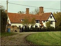 TM0249 : Naughton Hall, Naughton, Suffolk by Robert Edwards