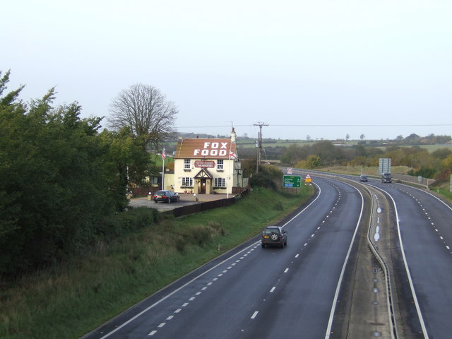 The Fox Inn Westbound A14