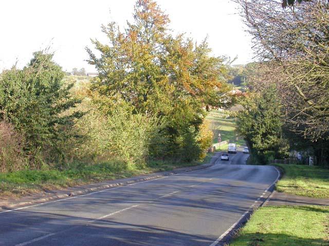 Irchester Road, Knuston