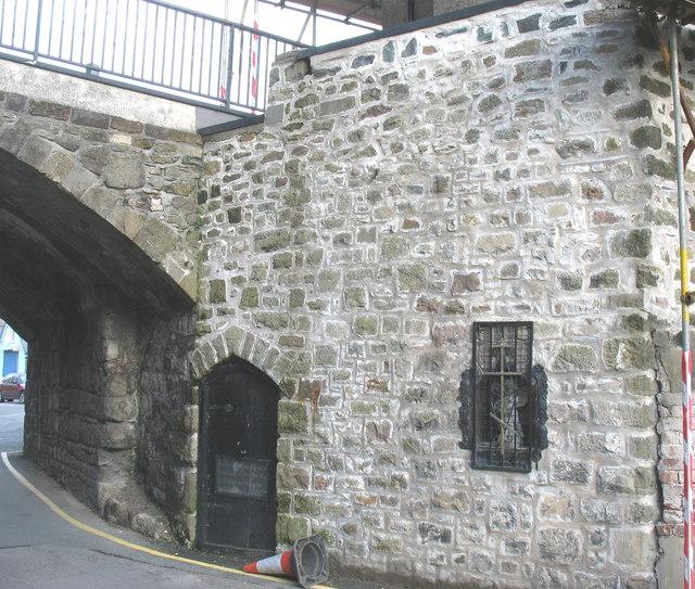 The Eastern Orthodox Chapel of SS Peter & Paul beneath East Gate Bridge
