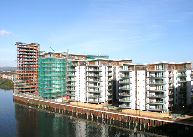Riverside Development, River Ely, Cardiff