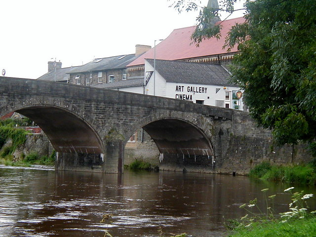 Bridge over the River Wye, Builth Wells