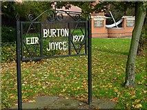 SK6443 : Burton Joyce Monuments by Stephen McKay