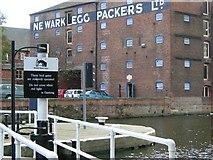 SK7953 : Town Lock, Newark on Trent by Stephen McKay