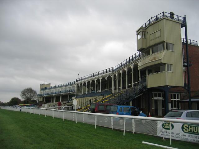 Ludlow race course grandstand