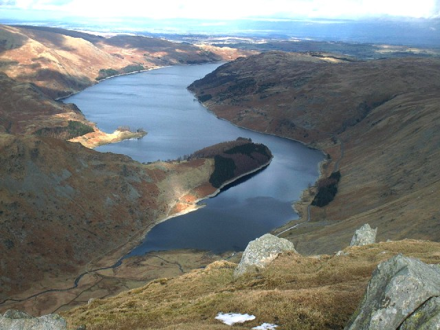 Haweswater from Harter Fell.
