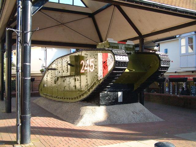 Tank in Ashford
