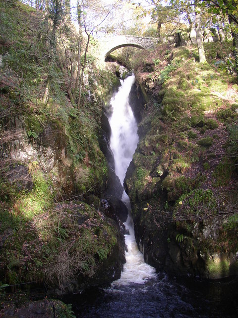 Aira Force, Watermillock township, Matterdale CP