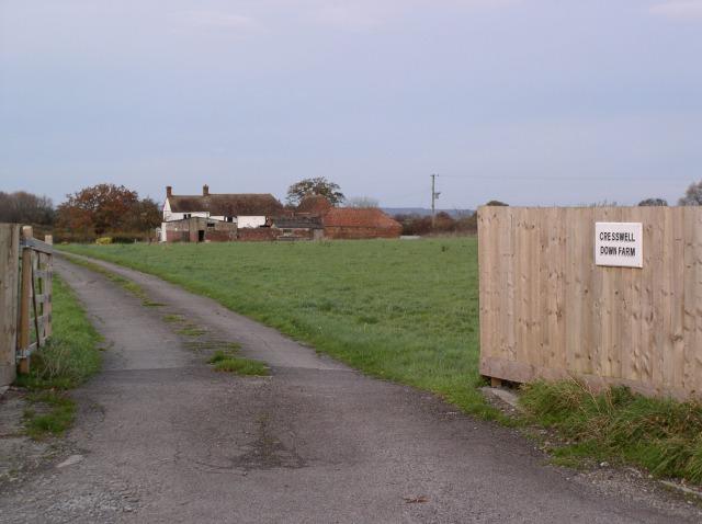 Cresswell Down Farm, Bratton Road