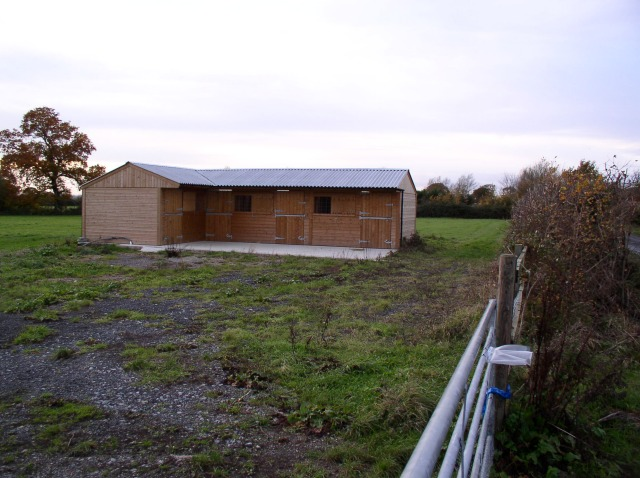 New stable off Capps Lane