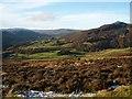 NN9263 : Looking down on Druid by Lis Burke