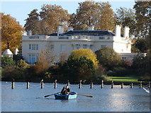 TQ2782 : The Holme, villa in Regent's Park by David Hawgood