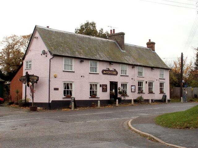 'The Venture' inn at Chelmondiston, Suffolk