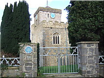 SM9515 : St Mary's Church, Haverfordwest by ceridwen