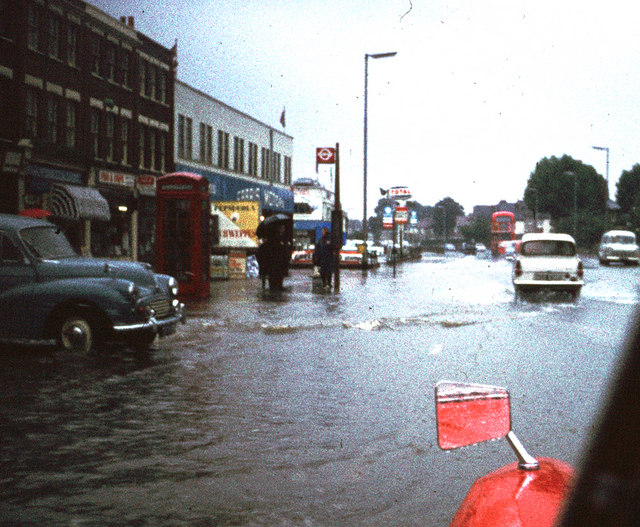 Bromley Road - 1968 Flood