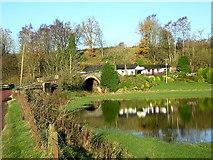 NS8838 : Douglasmouth Bridge by Iain Thompson