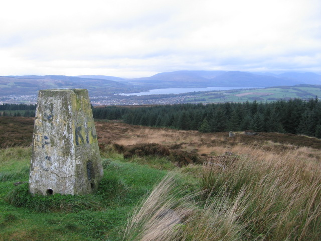 Pappert Hill trig point S4984