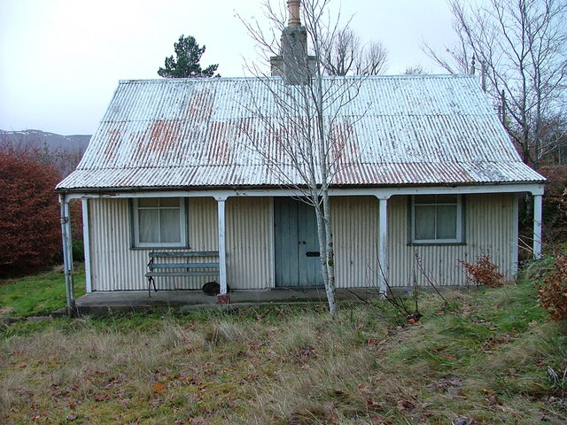 Empty Corrugated Iron House 169 Dave Fergusson Geograph