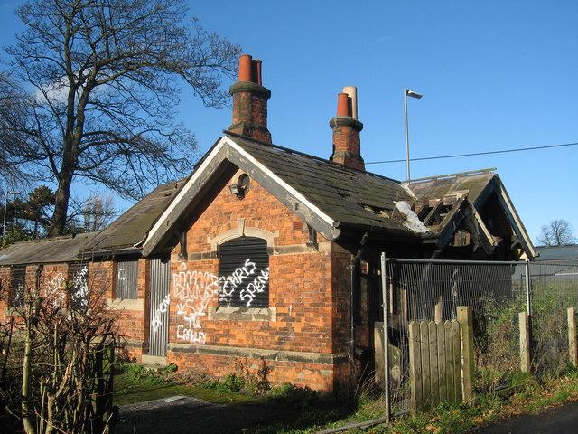Vandalised Lodge at Croxteth Park
