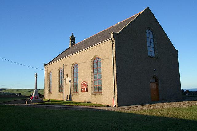 The Church of Scotland in New Aberdour.