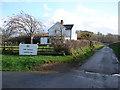 SN6774 : Trawsgoed Farm by John Lucas
