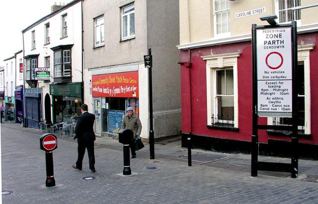 Caroline Street, Bridgend