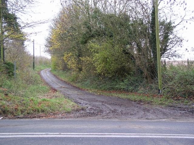 Lane off A4361, Winterbourne Monkton
