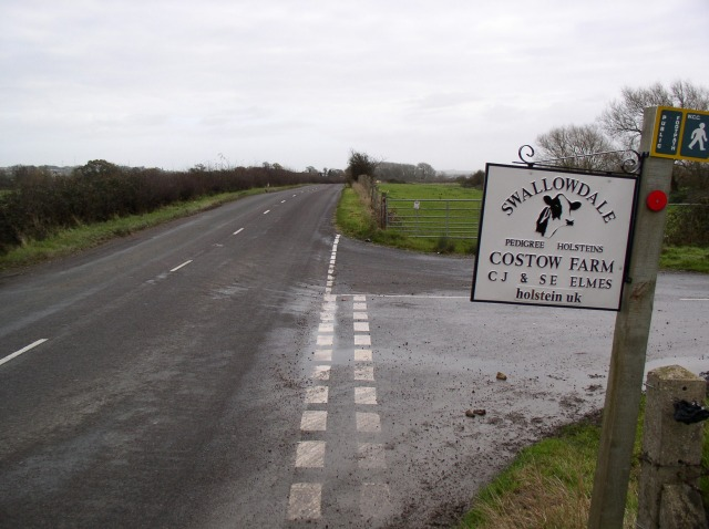Entrance to Costow Farm