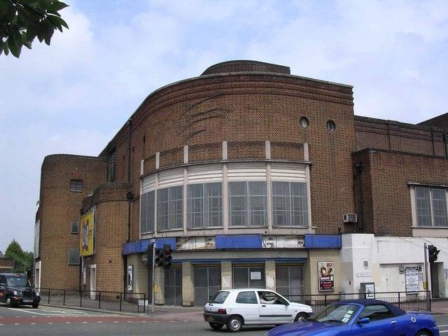 Art deco style cinema. Granada Clapham Junction.