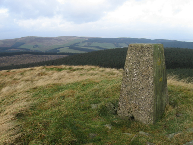 Trig point S6179 Innerdouny Hill