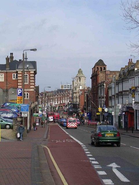 St John's Hill down, Lavender Hill up. Clapham Junction SW11