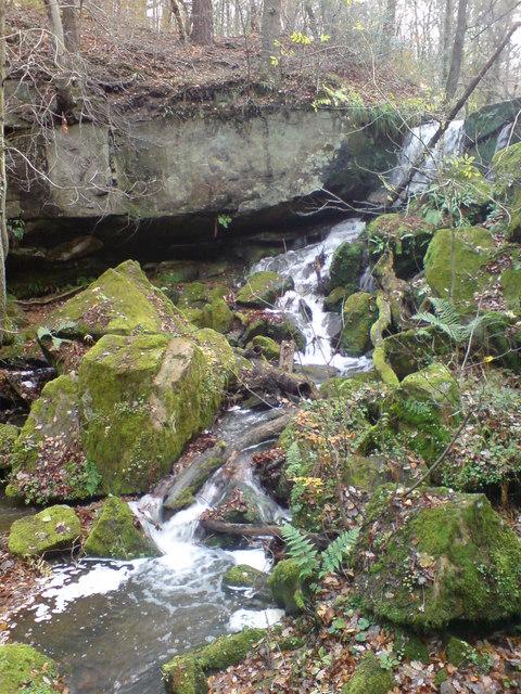 Pont Burn Waterfall