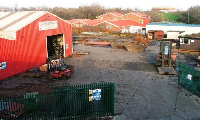Steel Stockyard, Newport