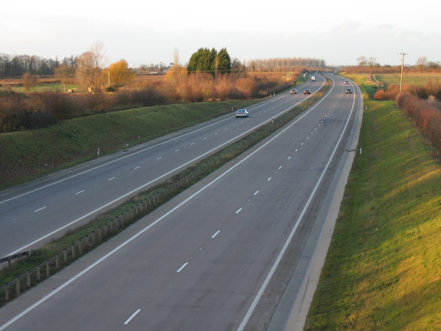 A419 from Driffield overbridge