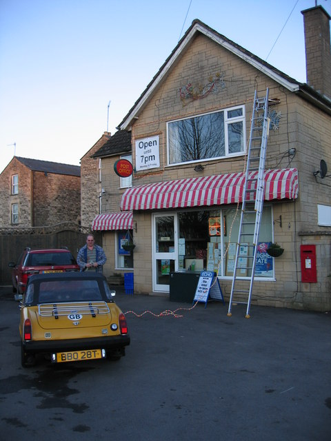 Siddington Post Office