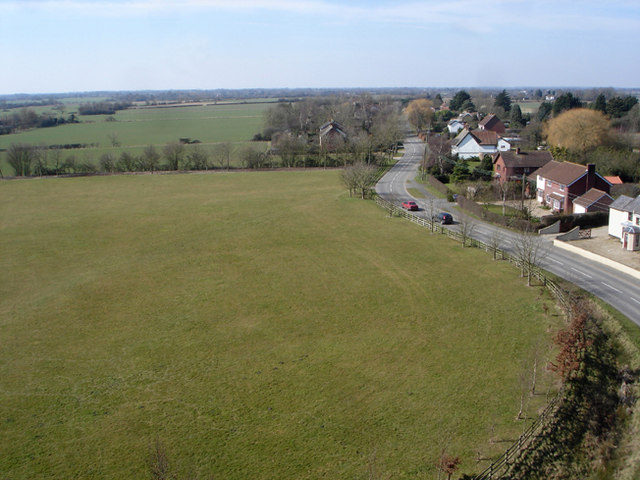 View from Horham church