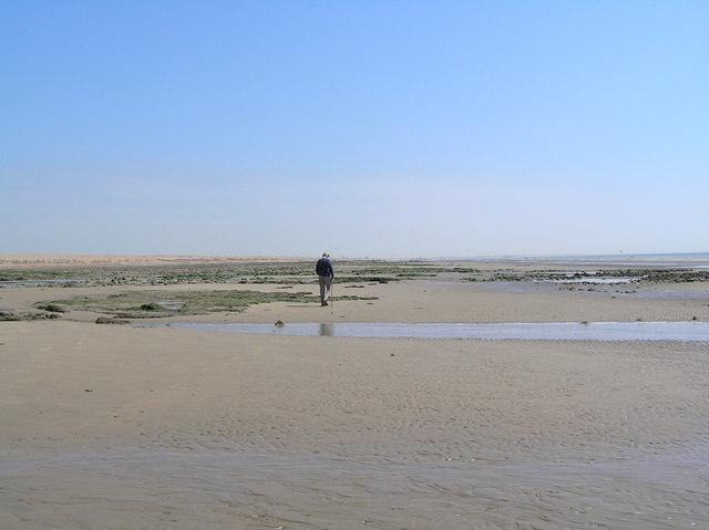 Pett Level at low tide