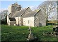 SS9774 : St Brynach's Church near Cowbridge by Tony Hodge