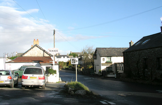 Llysworney village centre