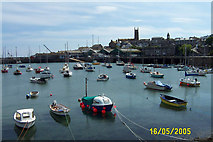 SW4730 : Penzance Harbour by mike hancock